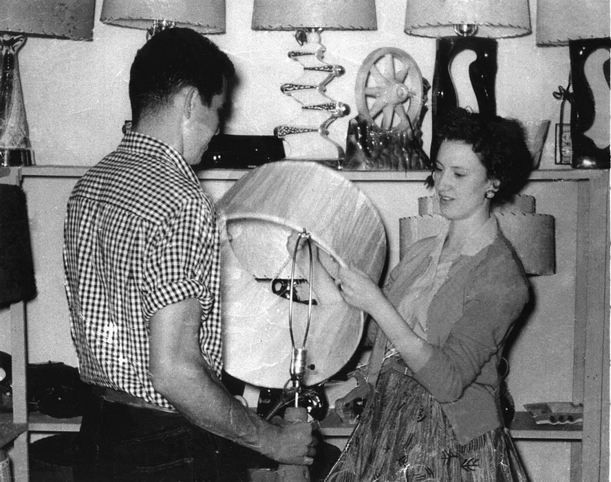 In 1953 Benton Spoke To Several Business Men In Bangs And Decided It Would  Be A Good Way To Promote Bangs And The Lamp Factory To Have A Retail Outlet.